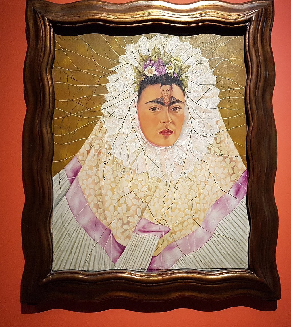 Self Portrait as a Tehuana by Frida Kahlo, 1943