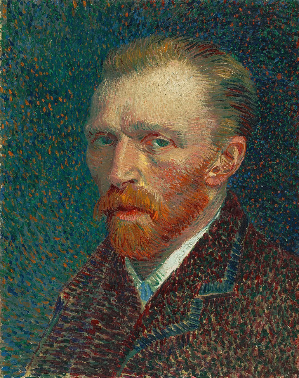 Self Portrait by Vincent van Gogh, 1887
